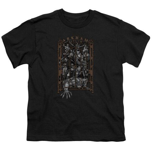 Batman Arkham's Gate Short Sleeve Youth T-Shirt