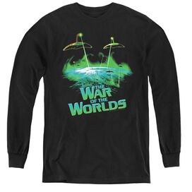 War Worlds Global Attack - Youth Long Sleeve Tee