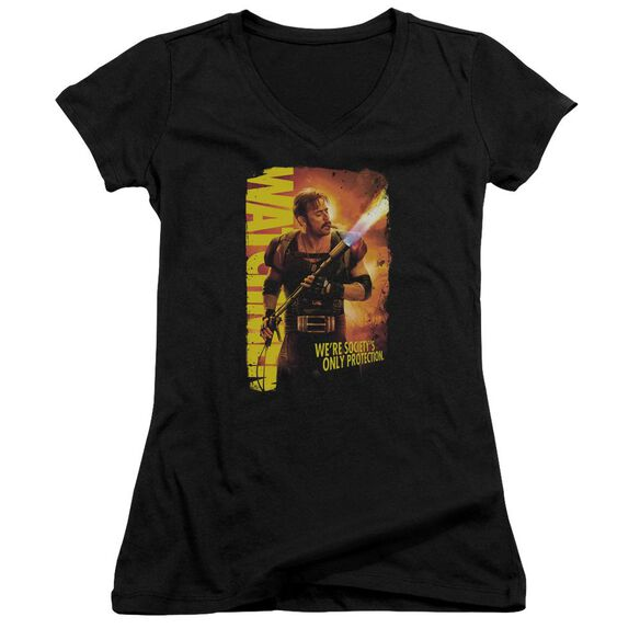 Watchmen Smoke Em Junior V Neck T-Shirt