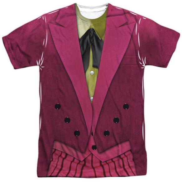 Batman Classic Tv Joker Uniform Short Sleeve Adult Poly Crew T-Shirt