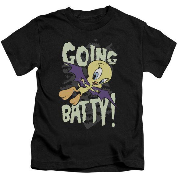 Looney Tunes Going Batty Short Sleeve Juvenile T-Shirt
