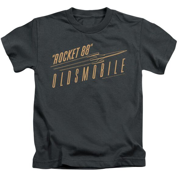 Oldsmobile Retro 88 Short Sleeve Juvenile Charcoal T-Shirt