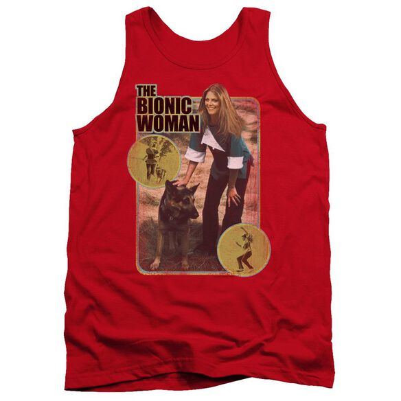Bionic Woman Jamie And Max Adult Tank