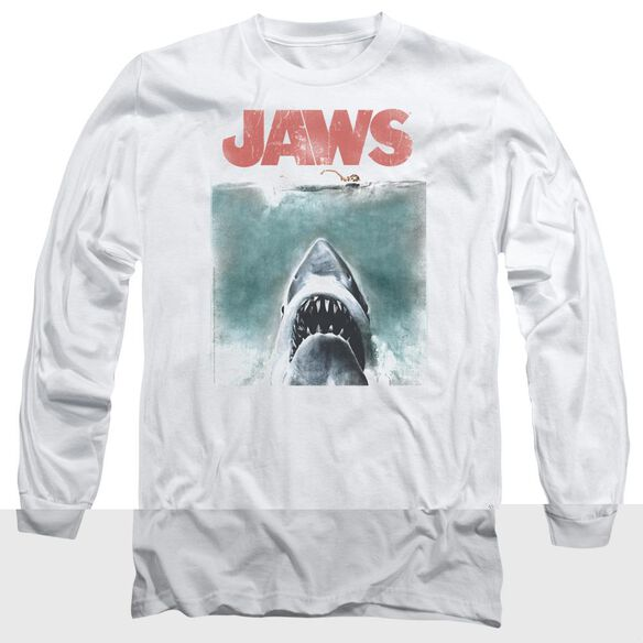 JAWS VINTAGE POSTER-L/S T-Shirt