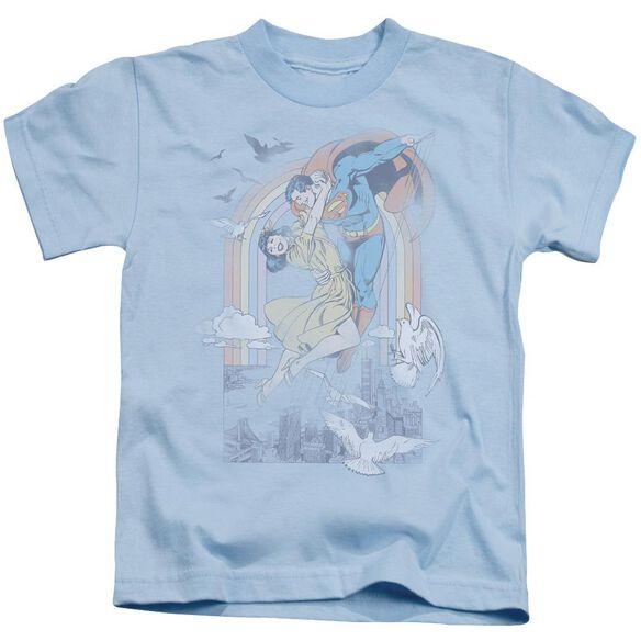 Dc Rainbow Love Short Sleeve Juvenile Light T-Shirt