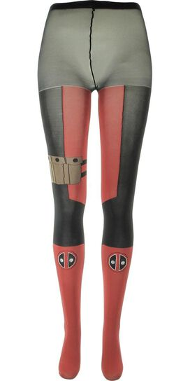 Deadpool Costume Suit Tights