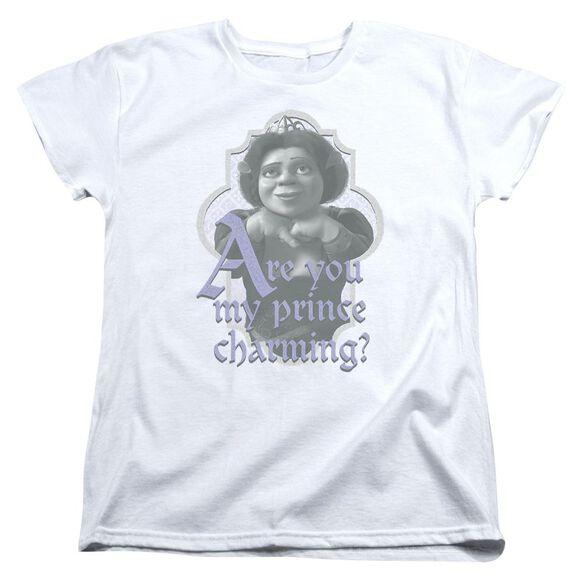 Shrek Lifes Questions Short Sleeve Womens Tee T-Shirt