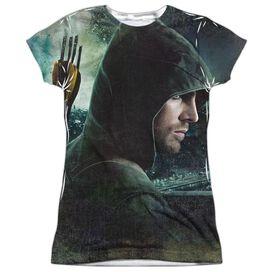 Arrow Hero Short Sleeve Junior Poly Crew T-Shirt