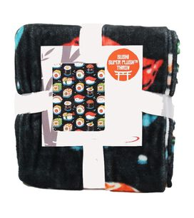 Sushi Super Plush Throw Blanket