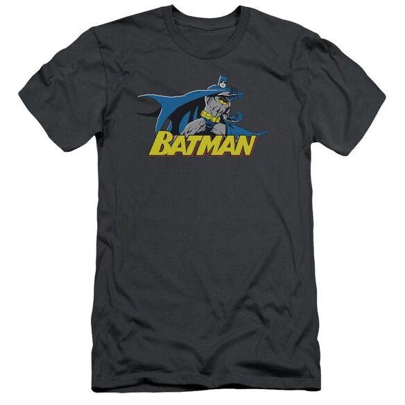 Batman 8 Bit Cape Short Sleeve Adult T-Shirt