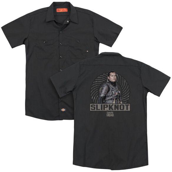 Suicide Squad Slipknot Rope (Back Print) Mens Regular Fit Polo