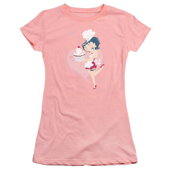Betty Boop Cupcake Premium Bella Junior Sheer Jersey