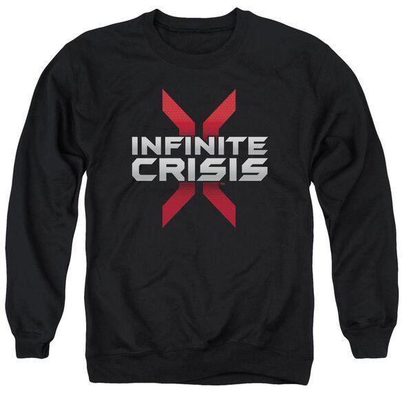 Infinite Crisis Logo Adult Crewneck Sweatshirt