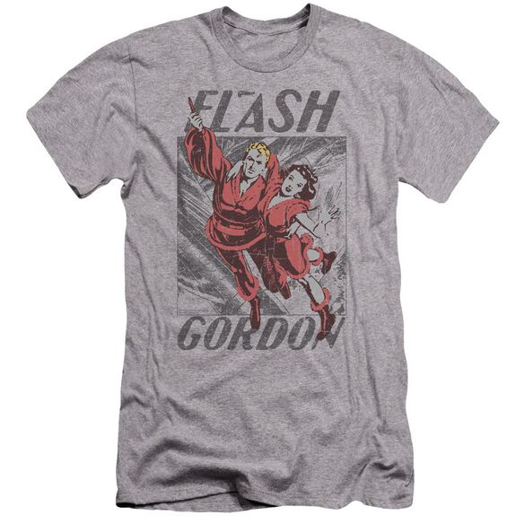 Flash Gordon To The Rescue Premuim Canvas Adult Slim Fit Athletic
