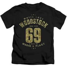 Woodstock White Lake Short Sleeve Juvenile T-Shirt