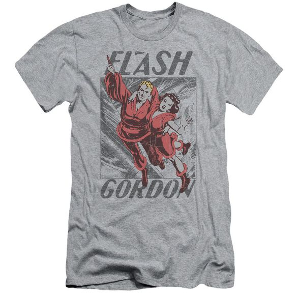 Flash Gordon To The Rescue Short Sleeve Adult Athletic T-Shirt