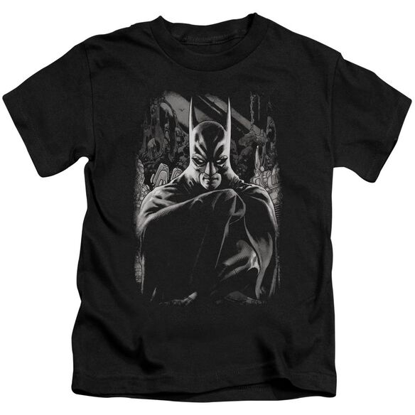 Batman Detective 821 Cover Short Sleeve Juvenile Black T-Shirt