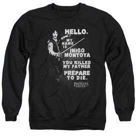 Princess Bride Hello Again Adult Crewneck Sweatshirt