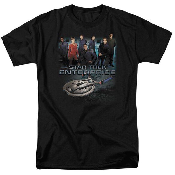 Star Trek Enterprise Crew Short Sleeve Adult T-Shirt