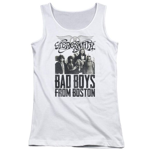 Aerosmith Bad Boys Juniors Tank Top