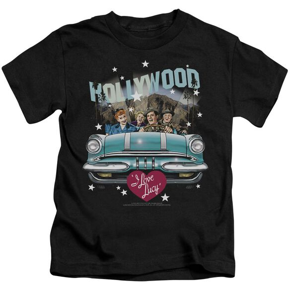I Love Lucy Hollywood Road Trip Short Sleeve Juvenile T-Shirt