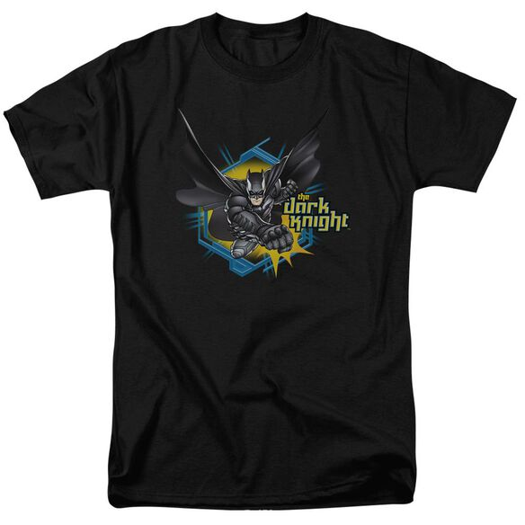 Dark Knight Hexagon Punch Short Sleeve Adult T-Shirt