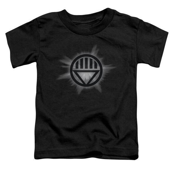 Green Lantern Black Glow Short Sleeve Toddler Tee Black Sm T-Shirt