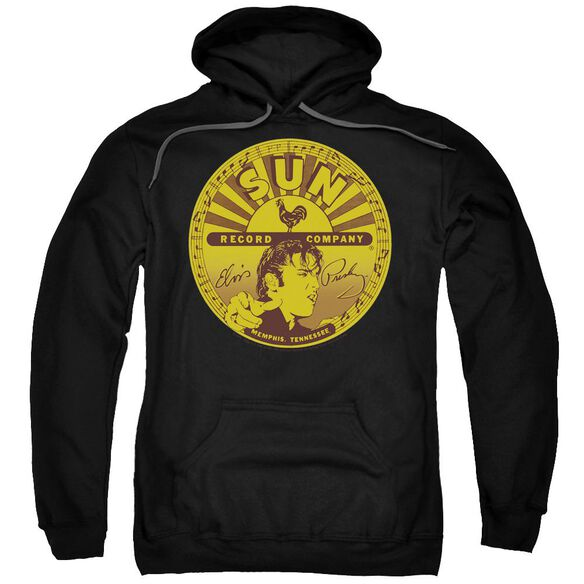 Sun Elvis Full Sun Label Adult Pull Over Hoodie