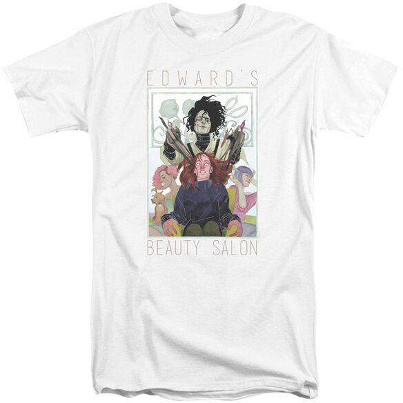 Edward Scissorhands Salon Short Sleeve Adult Tall T-Shirt