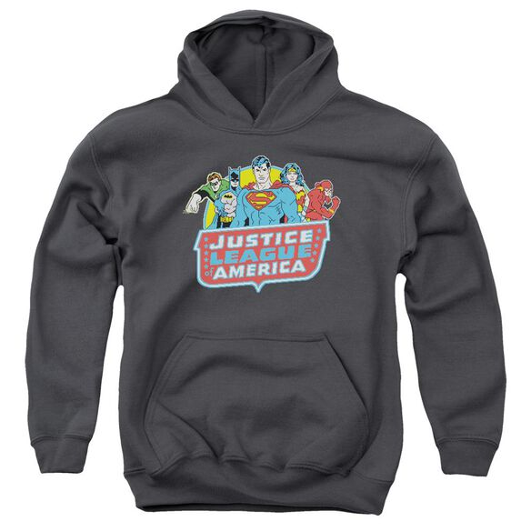 Dc 8 Bit League Youth Pull Over Hoodie