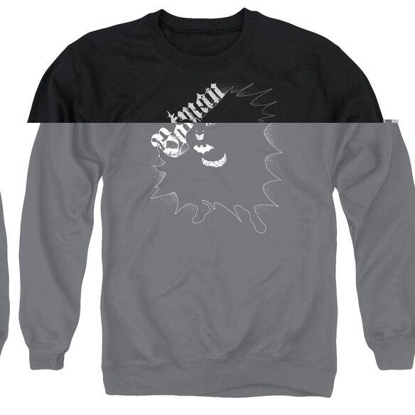 Batman Darkness - Adult Crewneck Sweatshirt - Black
