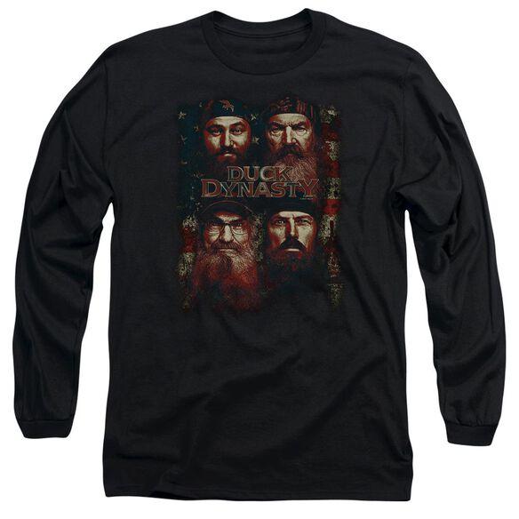 Duck Dynasty American Dynasty Long Sleeve Adult T-Shirt