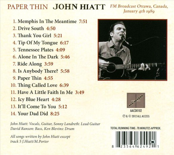 Paper Thin 0913