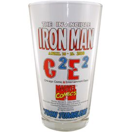 Iron Man C2E2 Glass
