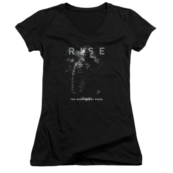 Dark Knight Rises Bane Rise Junior V Neck T-Shirt