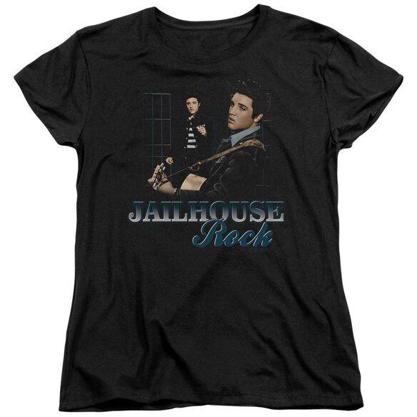 Elvis Presley Jailhouse Rock Short Sleeve Womens Tee T-Shirt