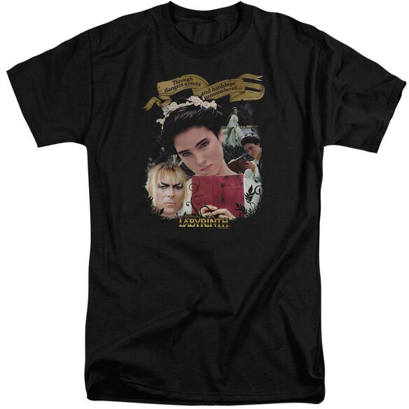 Labyrinth Dangers Untold Short Sleeve Adult Tall T-Shirt
