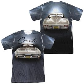 Chevrolet Bright Lights (Front Back Print) Short Sleeve Adult Poly Crew T-Shirt