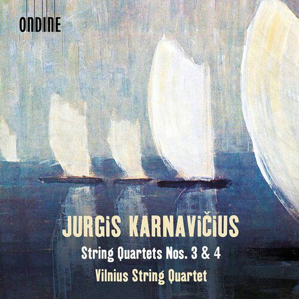 Karnavicius/ Vilnius String Quartet - String Quartets 3 & 4