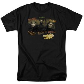 Mirrormask Hungry Short Sleeve Adult Black T-Shirt