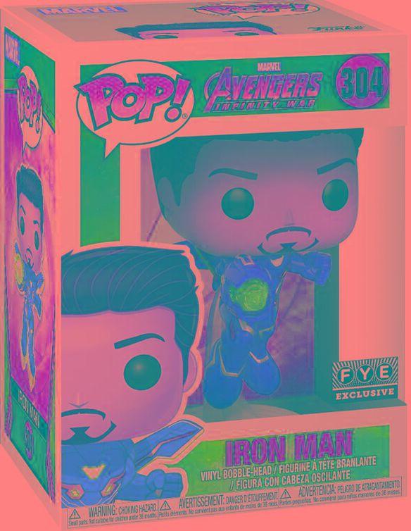 Funko Pop!: Avengers Infinity War Unmasked Iron Man