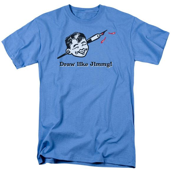 DRAW LIKE JIMMY- ADULT 18/1 - CAROLINA BLUE T-Shirt