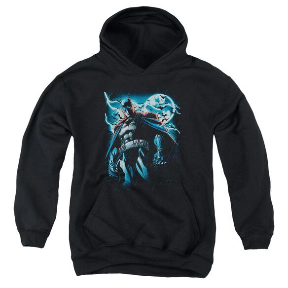 Batman Stormy Knight Youth Pull Over Hoodie