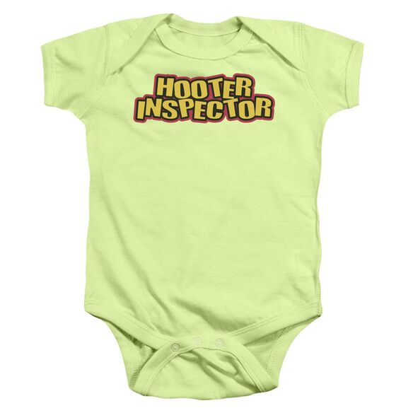 Hooter Inspector Infant Snapsuit Soft Green Sm