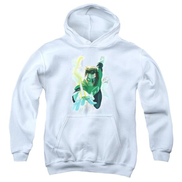 Green Lantern Clouds Youth Pull Over Hoodie