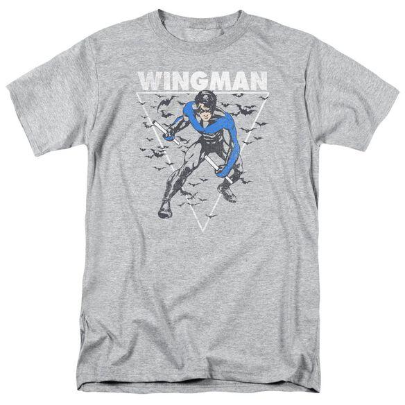 Batman Nightwingman Short Sleeve Adult Athletic T-Shirt