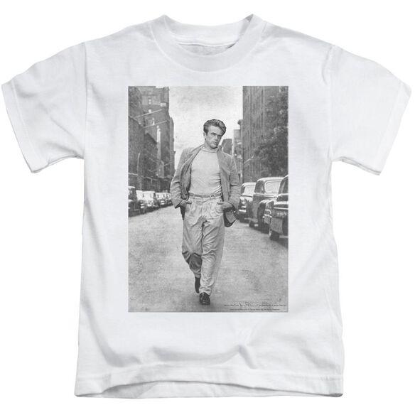 Dean Walk The Walk Short Sleeve Juvenile White T-Shirt