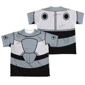 Teen Titans Go Cyborg Suit FB Dye Youth T-Shirt
