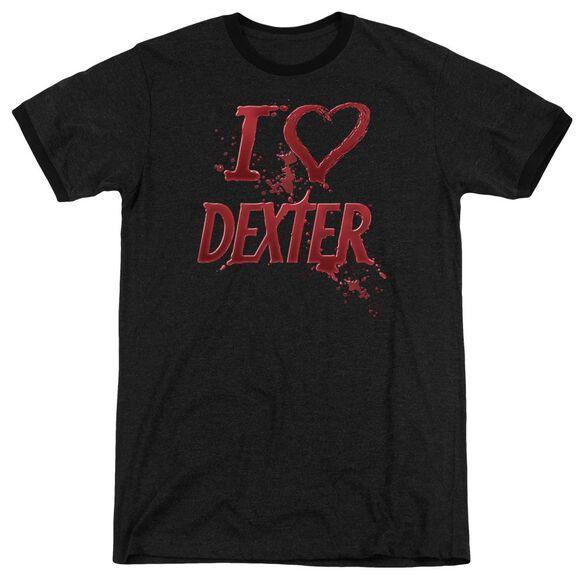 Dexter I Heart Dexter Adult Heather Ringer