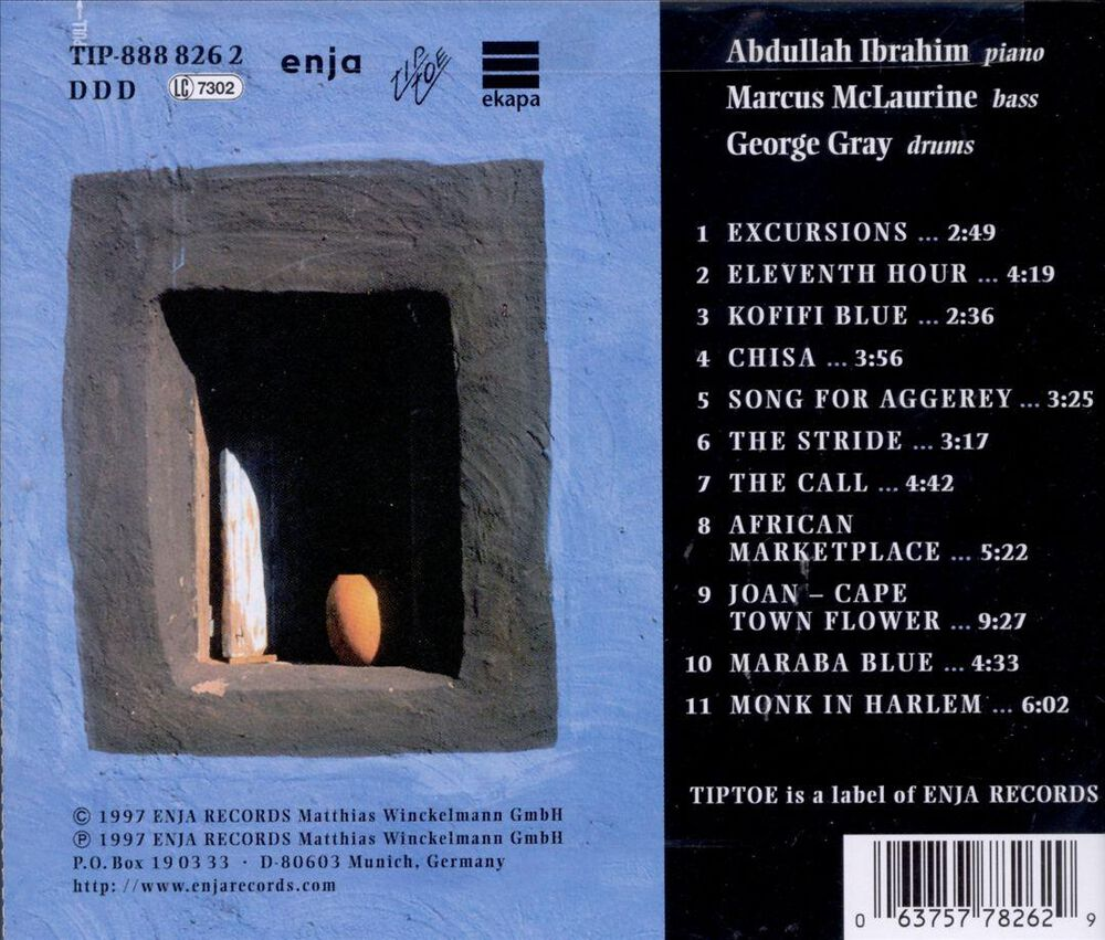 Cape Town Flowers By Abdullah Ibrahim Used On Cd Fye